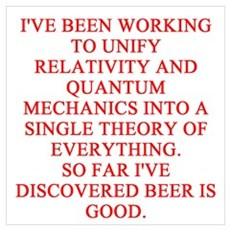 physics joke Poster