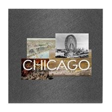 ABH Chicago Tile Coaster