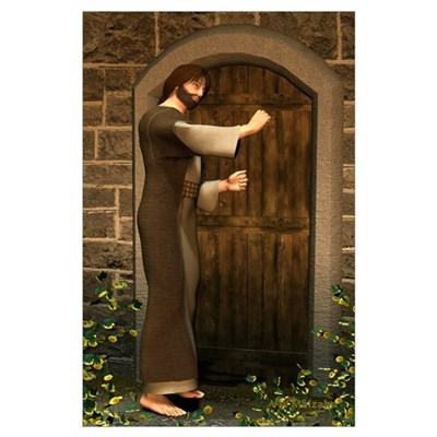 Jesus Knocking at the Door 11 X 17 Poster