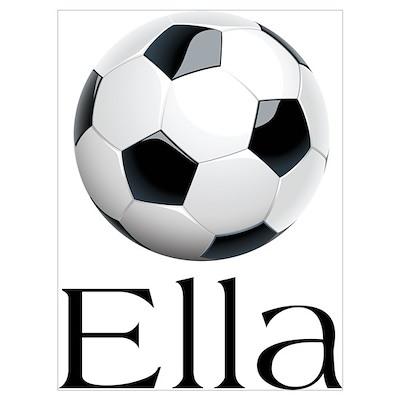 Ella Soccer Poster