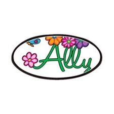 Ally Flowers Patches