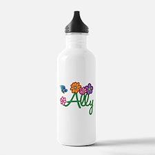 Ally Flowers Water Bottle