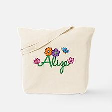 Aliza Flowers Tote Bag