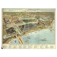 Chicago, 1893. Poster