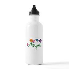 Aliyah Flowers Water Bottle