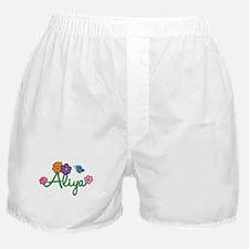 Aliya Flowers Boxer Shorts