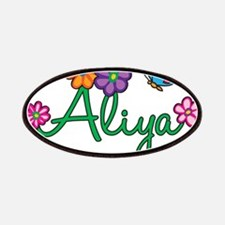 Aliya Flowers Patches