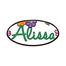 Alissa Flowers Patches