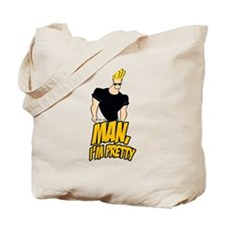 Man Im Pretty Tote Bag