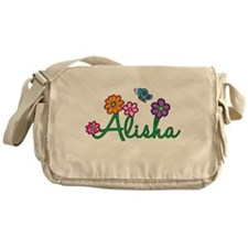 Alisha Flowers Messenger Bag