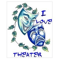 Ilove Theater Canvas Art