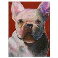 French Bulldog Painting Framed Print