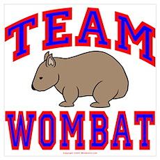 Team Wombat VI Poster