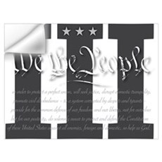We the 3% Wall Decal