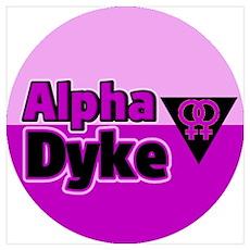 Riyah-Li Designs Alpha Dyke Poster