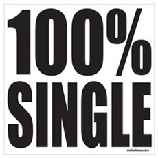 100% SINGLE Poster