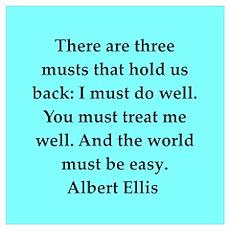 Albert Ellis quote Poster