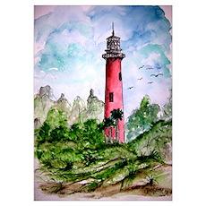 jupiter florida lighthouse fi Poster
