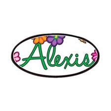Alexis Flowers Patches