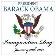 President Obama inauguration Poster
