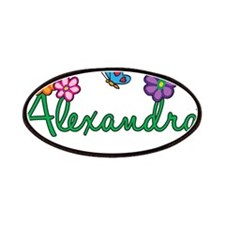 Alexandra Flowers Patches