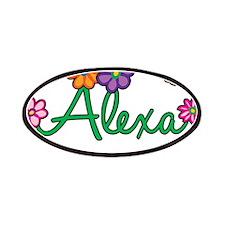 Alexa Flowers Patches