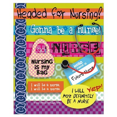 Headed to Nursing School Canvas Art
