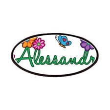 Alessandra Flowers Patches