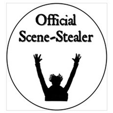 Official Scene-Stealer Framed Print