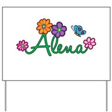 Alena Flowers Yard Sign