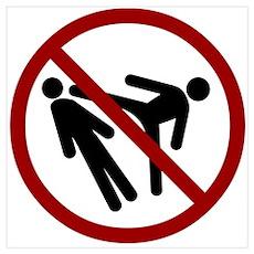 No Head Kicks Poster