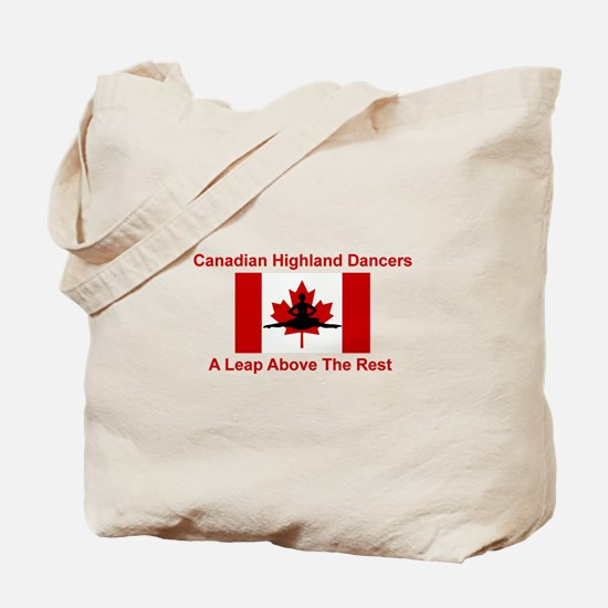 A Leap Above Tote Bag