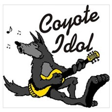 Coyote Idol Poster