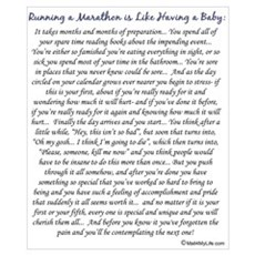 Running a Marathon is Like... Poster