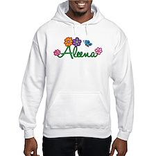 Aleena Flowers Hoodie Sweatshirt