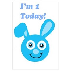 I'm 1 Bunny Poster