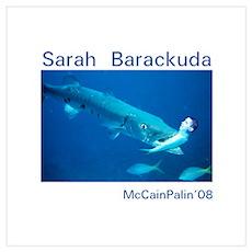 Sarah Barackuda Poster