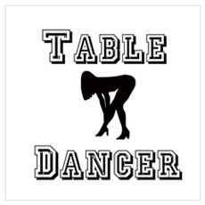 Table Dancer Canvas Art