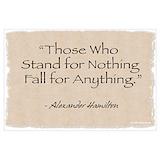 Alexander hamilton quote Posters