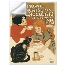 French Chocolate and Tea 1896 Wall Decal