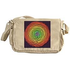 Funny Natural birth Messenger Bag