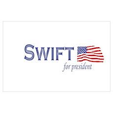 Kat Swift for president flag Poster