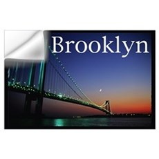 Verrazano Bridge, Bay Ridge, Wall Decal