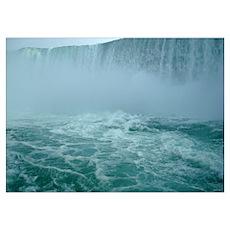 Horseshoe Falls - Niagara Fal Poster