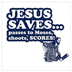 Jesus Saves Poster