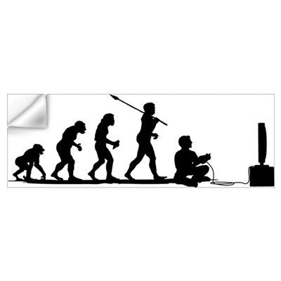 Video Gamer Wall Decal