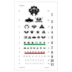 Inkblot Eye-Chart Poster