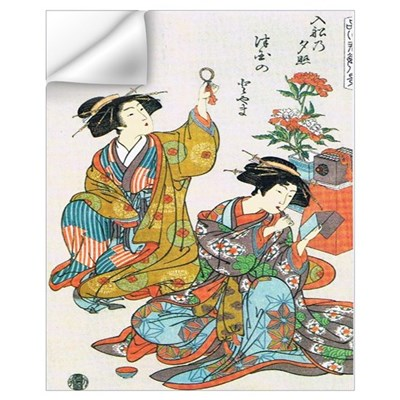 Classical Ancient Japanese Se Wall Decal