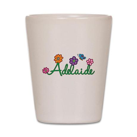 Adelaide Flowers Shot Glass