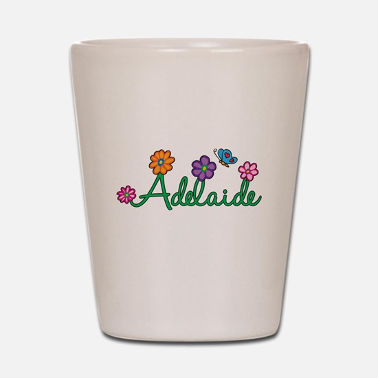 Adelaide Flowers Shot Glass